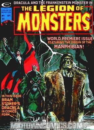 Legion Of Monsters Magazine #1