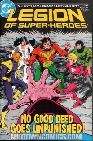 Legion Of Super-Heroes Vol 3 #19
