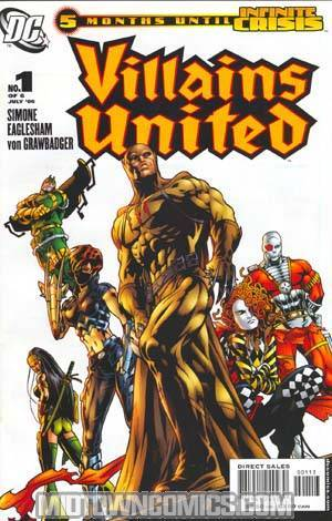 Villains United #1 Cover C 3rd Ptg