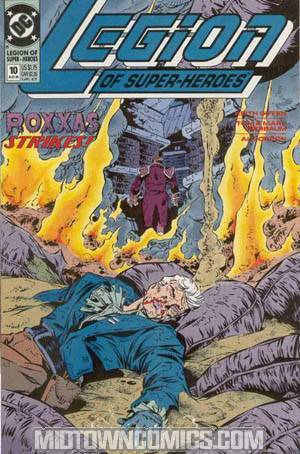 Legion Of Super-Heroes Vol 4 #10