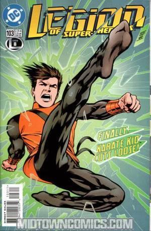 Legion Of Super-Heroes Vol 4 #103