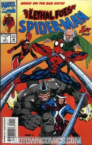 Lethal Foes Of Spider-Man #1