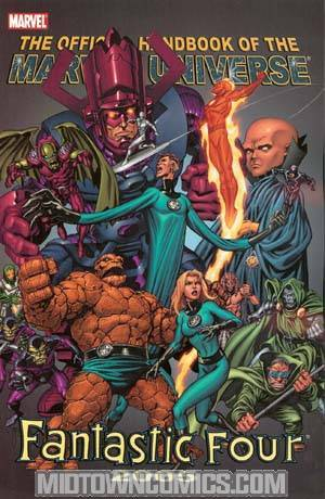 Official Handbook Of The Marvel Universe Fantastic Four 2005