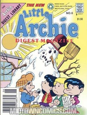 Little Archie Digest Magazine Vol 2 #6
