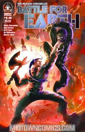 McKain Chronicles Battle For Earth #1
