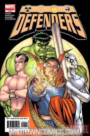 Defenders Vol 3 #1 (Mini-Series)