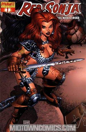 Red Sonja Vol 4 #1 Cover G Incentive Adams Alt Cvr