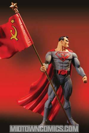 Elseworlds Series 1 Red Son Superman Action Figure Midtown Comics