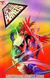 Battle Of The Planets Vol 2 #1 Cover E Alex Ross Holofoil Cover
