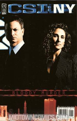 CSI New York Bloody Murder #1