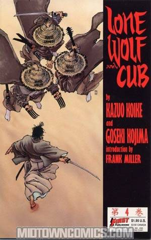 Lone Wolf And Cub (First Comics) #4