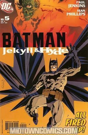 Batman Jekyll And Hyde #5