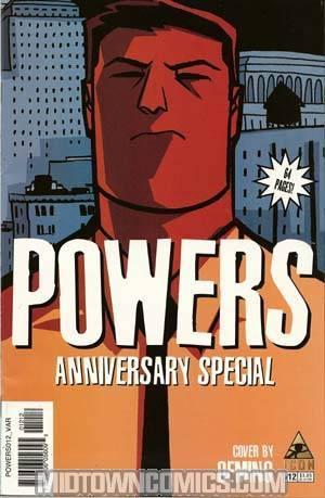 Powers Vol 2 #12 Oeming Variant