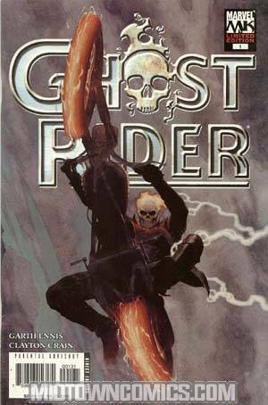 Ghost Rider Vol 4 Road To Damnation #1 Cover B Incentive Esad Ribic Variant Cover