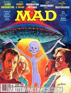 MAD Magazine #200
