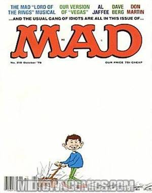 MAD Magazine #210