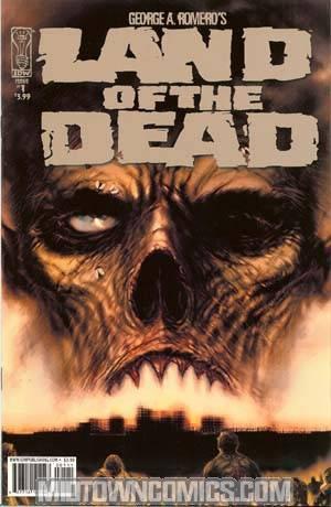 George Romeros Land Of The Dead #1 Regular Chris Bolton Cover