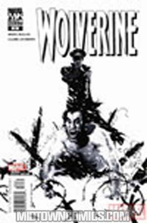 Wolverine Vol 3 #32 Cover B Black & White Variant Cover