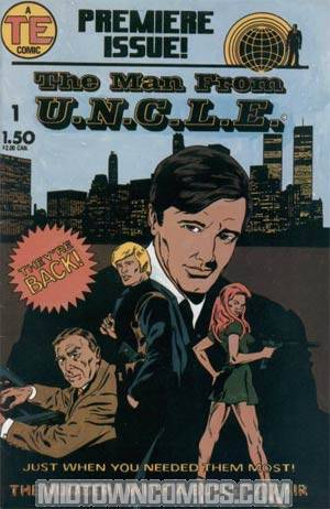 Man From UNCLE Vol 2 #1