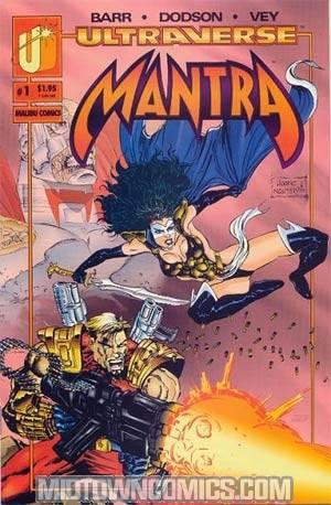 Mantra #1 Cover E Newsstand Edition