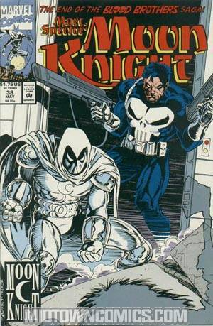 Marc Spector Moon Knight #38