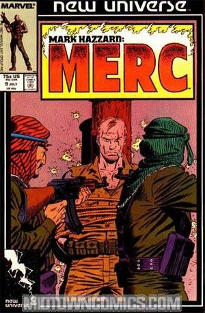 Mark Hazzard Merc #9