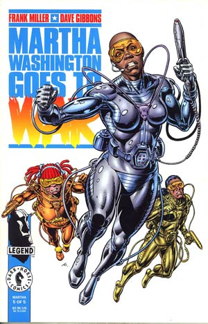 Martha Washington Goes To War #5