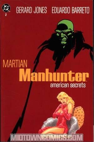 Martian Manhunter American Secrets #2