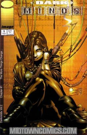 Darkminds Vol 2 #1 Cover B Joe Quesada