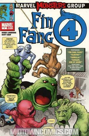 Marvel Monsters Fin Fang Four