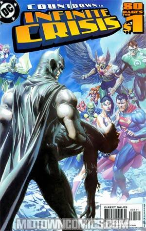DC Countdown To Infinite Crisis #1 Cover B 1st Ptg Signed By Ivan Reis