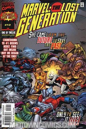 Marvel The Lost Generation #12
