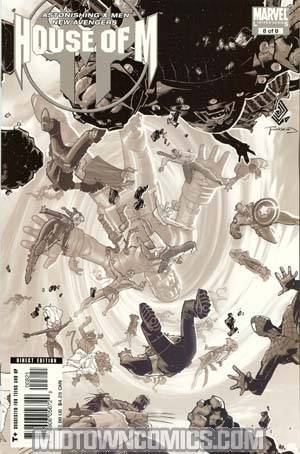 House Of M #8 Cover B Incentive Bachalo Variant Cover