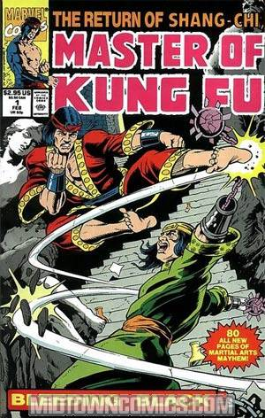 Master Of Kung-Fu Bleeding Black #1
