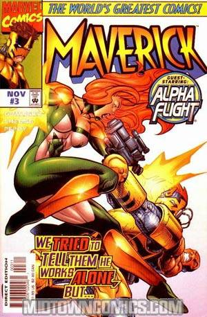 Maverick (Marvel) #3