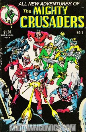 Mighty Crusaders Vol 2 #1