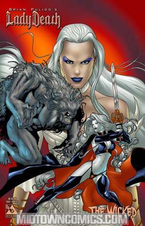 Brian Pulidos Lady Death Wicked #1 Conflict Cvr