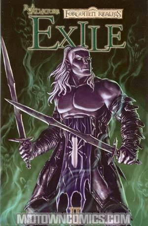 Forgotten Realms Dark Elf Trilogy Book 2 Exile #2 Cvr B Walpole