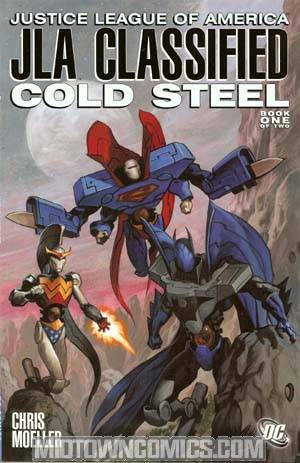 JLA Classified Cold Steel #1