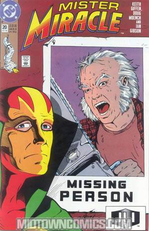 Mister Miracle Vol 2 #20