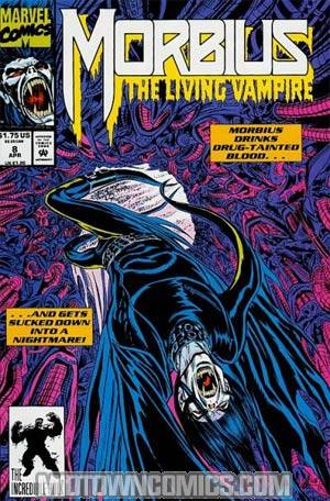 Morbius The Living Vampire #8