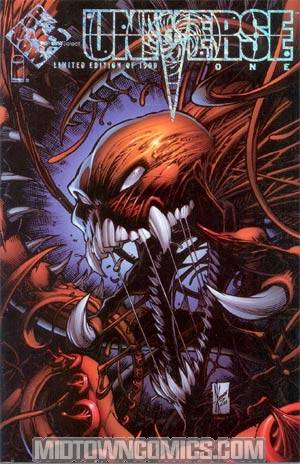 Universe #1 Top Cow Select Foil Alt Cvr