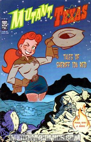 Mutant Texas Tales Of Sheriff Ida Red #1