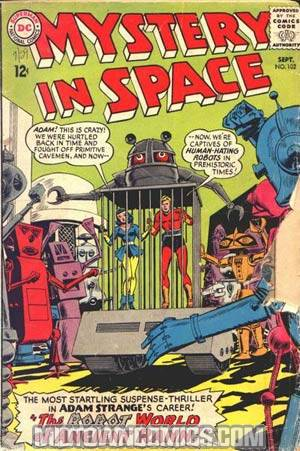 Mystery In Space #102