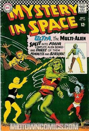 Mystery In Space #107