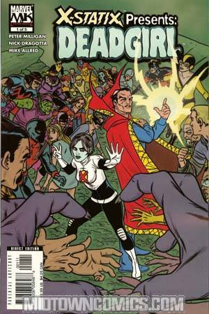 X-Statix Presents Dead Girl #1