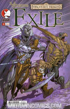 Forgotten Realms Dark Elf Trilogy Book 2 Exile #3 Cvr A Seeley