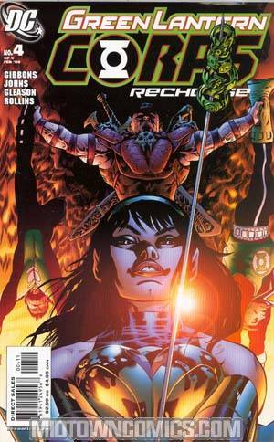 Green Lantern Corps Recharge #4