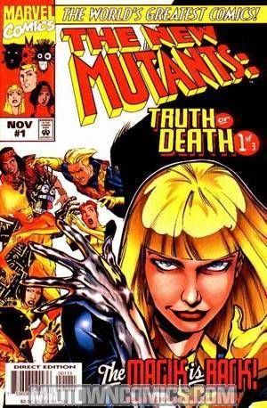 New Mutants Truth Or Death #1