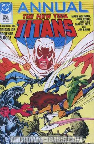 New Teen Titans Vol 2 Annual #2